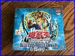YuGiOh! Legend of Blue-Eyes White Dragon WS Ed Sealed Box LOB ASIA