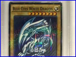 YuGiOh PSA 10 GEM MINT 2015-JPP01 Blue Eyes White Dragon WCS 2015 Attendance