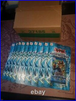 Yugioh 10X LOB Blister Pack Sealed Legend of Blue Eyes White Dragon Booster Rare