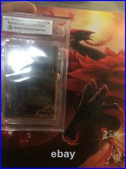Yugioh 1st Ed WAVY Blue-Eyes White Dragon BGS 4 LOB-001 Ultra Rare N. American