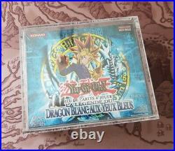 Yugioh 1st Edition LOB Booster Box Sealed Legend Blue Eyes White Dragon FR