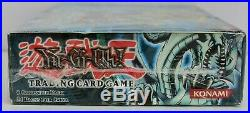 Yugioh 1st Edition Legend of Blue Eyes White Dragon Booster Box PORTUGUESE NEW
