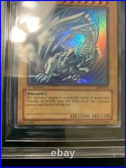 Yugioh 1st Edition SDK-001 Blue Eyes White Dragon BGS 9.5