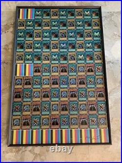 Yugioh 2002 Starter Deck Yugi + Kaiba Factory UNCUT SHEET Blue-Eyes White Dragon