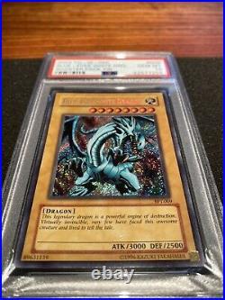 Yugioh Blue Eyes White Dragon BPT-009 Limited Edition PSA 10