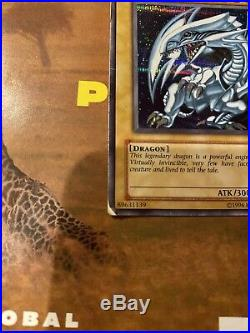 Yugioh Blue-Eyes White Dragon DDS-001 Limited Secret Rare Moderately Played