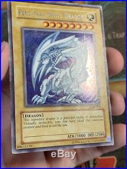 Yugioh Blue-Eyes White Dragon DDS-001 Secret Rare Dark Duel Stories Promo