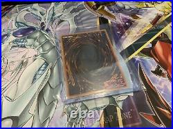 Yugioh Blue Eyes White Dragon GLD5 Haunted mines Ghost Rare
