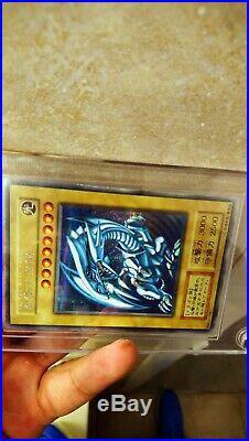 Yugioh Blue Eyes White Dragon Jump Festa Holy Grail DDS LOB nah