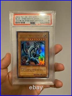 Yugioh Blue Eyes White Dragon LOB #001 PSA 9 MINT