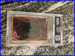 Yugioh Blue Eyes White Dragon LOB-001 PSA 9 MINT Ultra Rare 2002