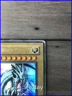 Yugioh Blue Eyes White Dragon LOB 1st Edition