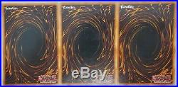 Yugioh Blue-Eyes White Dragon Prismatic Secret Rare DDS-001 LP Set of 3