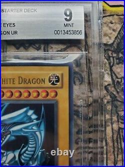 Yugioh Blue Eyes White Dragon Starter Deck Kaiba SDK 001 BGS 9 PSA