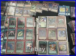 Yugioh Collection Lot Blue Eyes White Dragon Dark Magician alot of 1st Editon