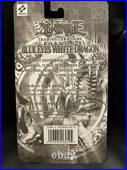 Yugioh LOB Unlimited Legend of Blue Eyes White Dragon Blister Pack Sealed RARE