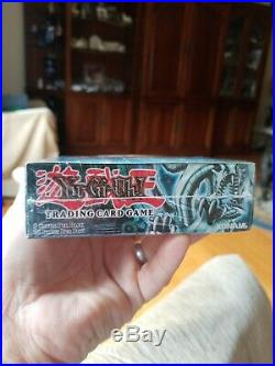 Yugioh Legend Of Blue Eyes White Dragon New MINT condition Sealed Booster Box