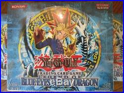 Yugioh Legend Of Blue Eyes White Dragon Unopened Mint Unlimited Booster Box