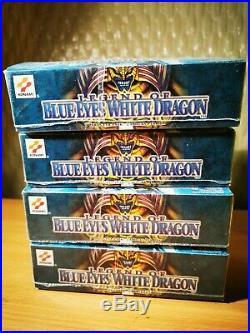 Yugioh Legend of Blue Eyes White Dragon 3 Boxes (Sealed) Europe ENGLISH