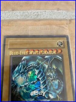 Yugioh! MISPRINT Sealed Blue-Eyes White Dragon JMP-001 Ultra Rare